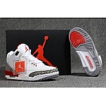 2018 New Jordan Retro 3 Sneakers For Men in 188328