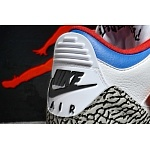 2018 New Cheap Air Jordan Retro 3 South Korea Sneakers For Men in 190969, cheap Jordan3