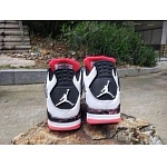 2019 New Cheap Nike Air Jordan Retro 4 Sneakers For Men in 206352, cheap Jordan4