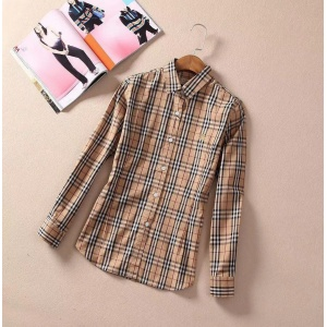 $33.00,2019 New Cheap Burberry Long Sleeved Shirts For Men # 210751