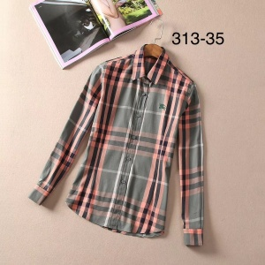 $33.00,2019 New Cheap Burberry Long Sleeved Shirts For Men # 210761