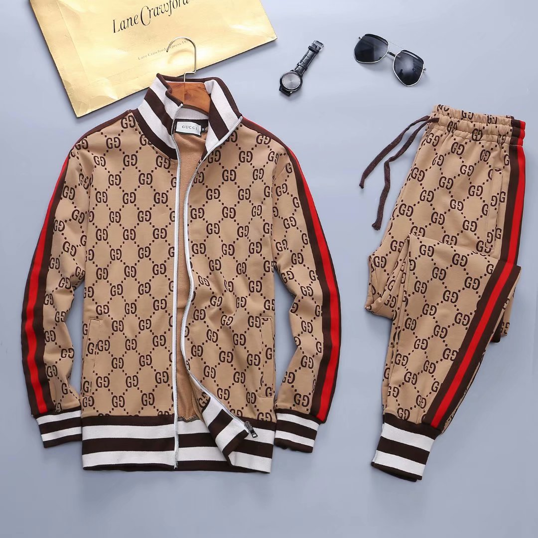 2019 New Cheap Gucci Tracksuits For Men # 210726, cheap Gucci Tracksuits, only $72!