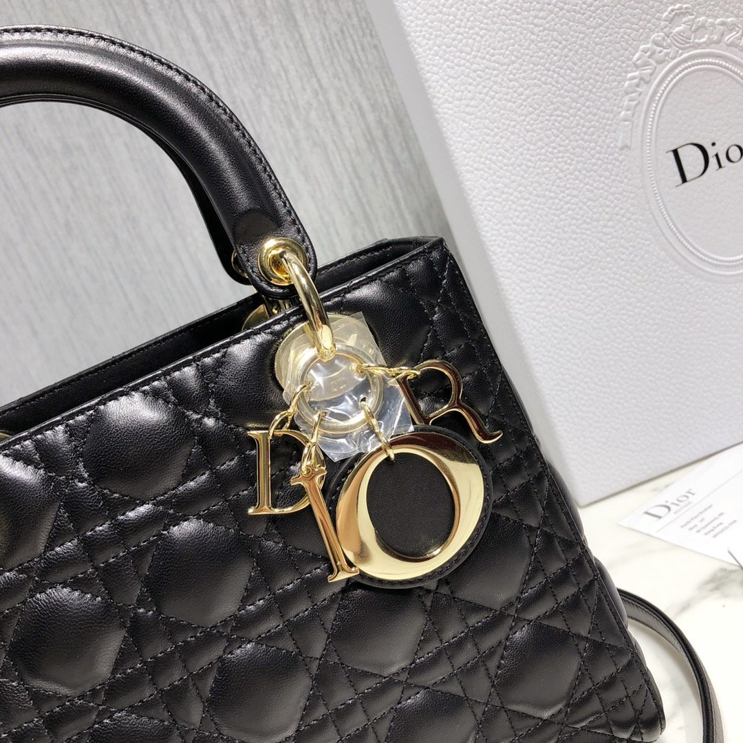2019 AAA Quality Dior Lambskin Mini Lady Classic Bag For Women # 211641, cheap Dior Handbags, only $275!