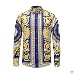 2019 New Cheap Long Sleeved Versace Shirts For Men  # 210860, cheap Versace Hoodies