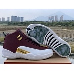 2019 Cheap Air Jordan Retro 12 Game Ball Sneakers For Men in 212610