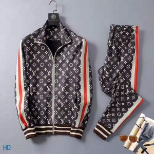 2020 Cheap Louis Vuitton Tracksuits For Men in 216276