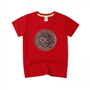 $26.00,2020 Cheap LV Short Sleeve T Shirts For Kids # 218936