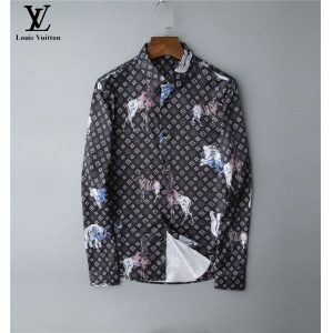 $30.00,2020 Cheap Louis Vuitton Long Sleeve Shirts For Men # 220053