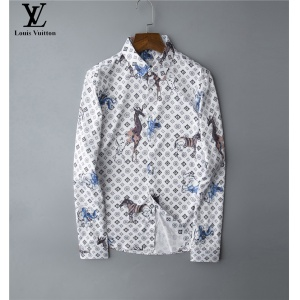$30.00,2020 Cheap Louis Vuitton Long Sleeve Shirts For Men # 220054