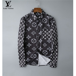 $30.00,2020 Cheap Louis Vuitton Long Sleeve Shirts For Men # 220061