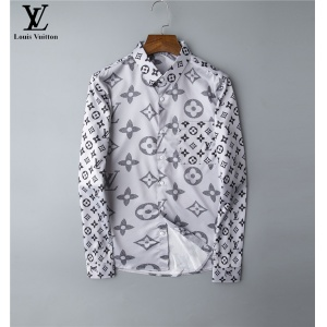 $30.00,2020 Cheap Louis Vuitton Long Sleeve Shirts For Men # 220062