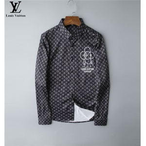 $30.00,2020 Cheap Louis Vuitton Long Sleeve Shirts For Men # 220063