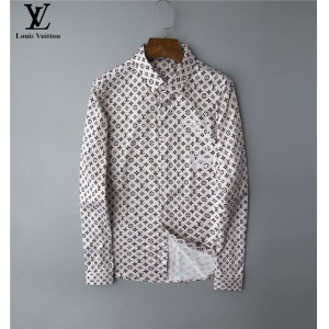 $30.00,2020 Cheap Louis Vuitton Long Sleeve Shirts For Men # 220064