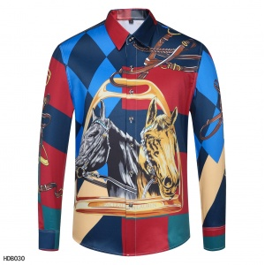 2020 Cheap Versace Long Sleeve Shirts For Men in 223846