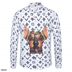 $34.00,2020 Cheap Louis Vuitton Long Sleeve Shirts For Men in 223847