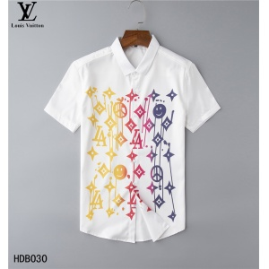 $32.00,2020 Cheap Louis Vuitton Short Sleeve Shirts For Men in 223870