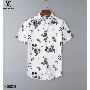 $32.00,2020 Cheap Louis Vuitton Short Sleeve Shirts For Men in 223872