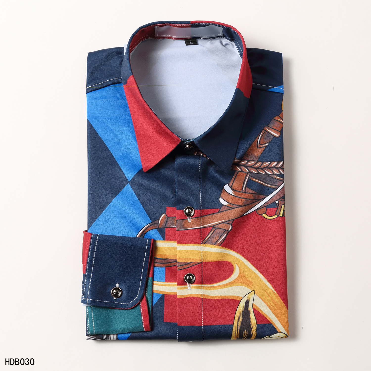 2020 Cheap Versace Long Sleeve Shirts For Men in 223846, cheap Versace Shirts, only $34!