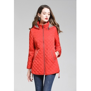 2020 Burberry Diamond Quilted Down Jackets With Detachable Hood For Women # 228709