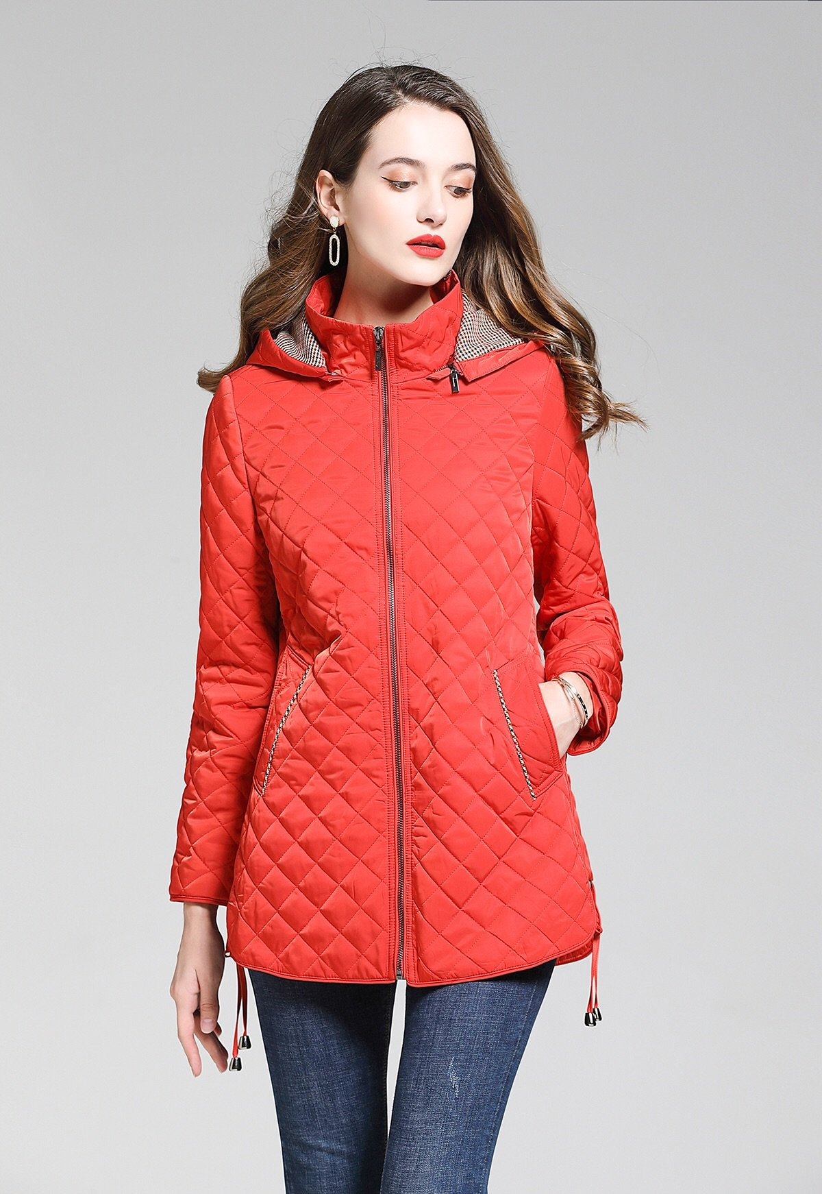 2020 Burberry Diamond Quilted Down Jackets With Detachable Hood For Women # 228709, cheap Burberry Jackets For Women, only $110!