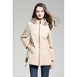 2020 Burberry Diamond Quilted Down Jackets With Detachable Hood For Women # 228710