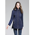 2020 Burberry Diamond Quilted Down Jackets With Detachable Hood For Women # 228711