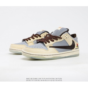$77.00,Nike SB Dunk Low SP Trail End Brown Sneakers Unisex in 232579