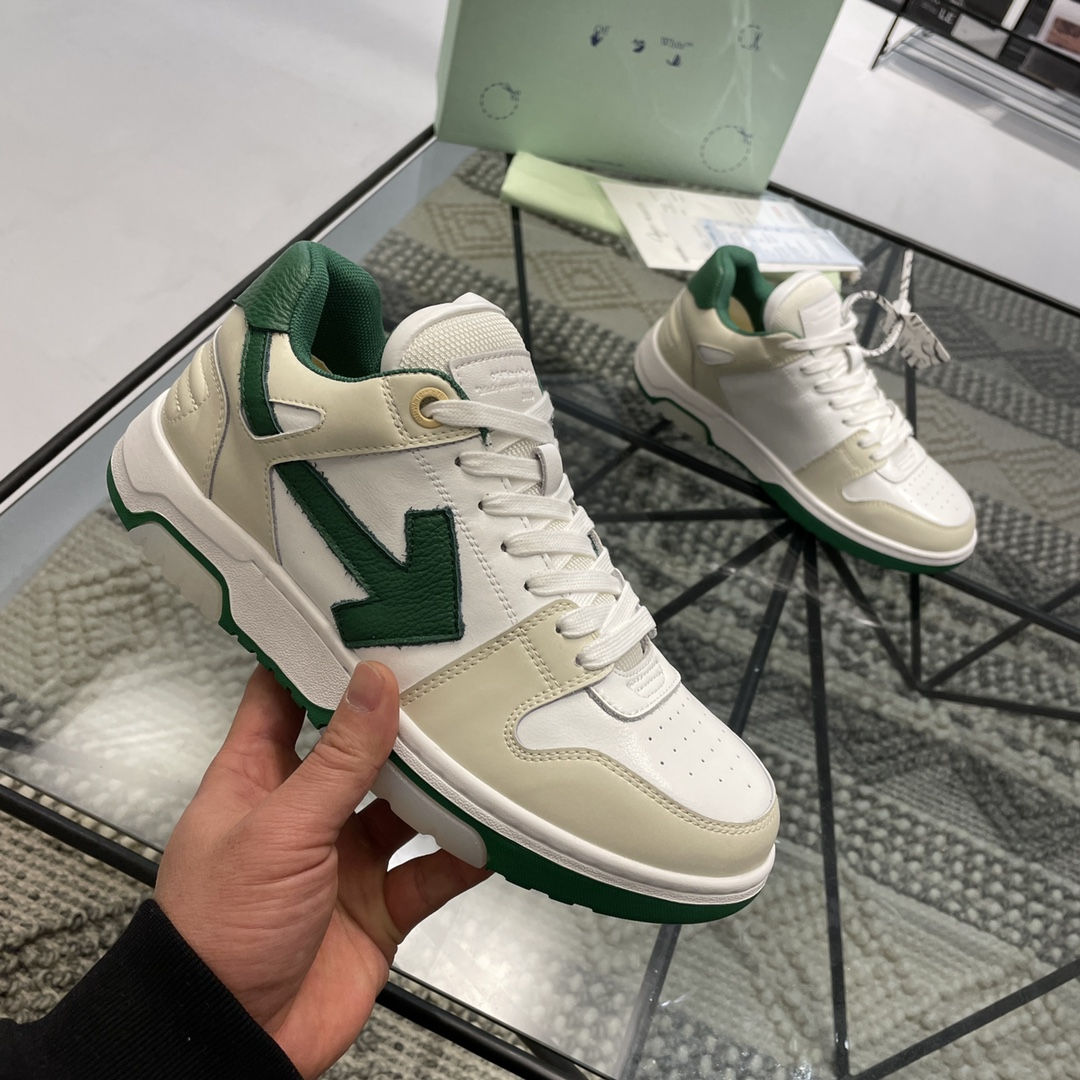 Off White Out Of Office Sneakers Unisex # 233189, cheap Off White Sneakers, only $82!