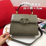 Valentino Croc Embossed Leather Handbags For Women # 232810