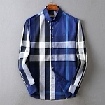 Burberry Classic Check Cotton Long Sleeve Shirts For Men # 233426