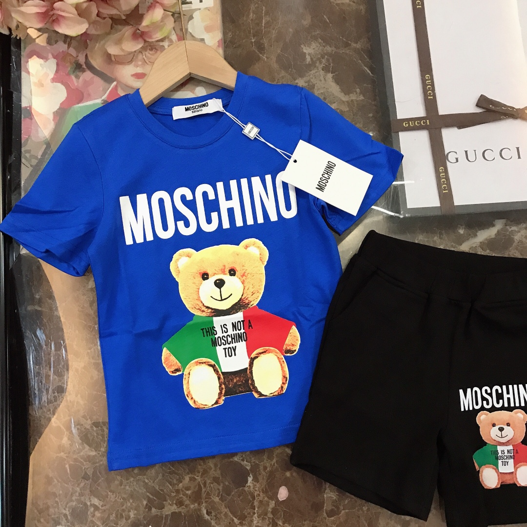 2021 Moschino Top And Track Shorts Set For Kids # 236928, cheap Kid's Tracksuits For Kids, only $45!
