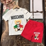 2021 Moschino Top And Track Shorts Set For Kids # 236925