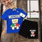 2021 Moschino Top And Track Shorts Set For Kids # 236928, cheap Tracksuits For Kids